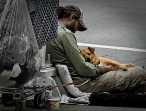 Homelessmanandhisdog